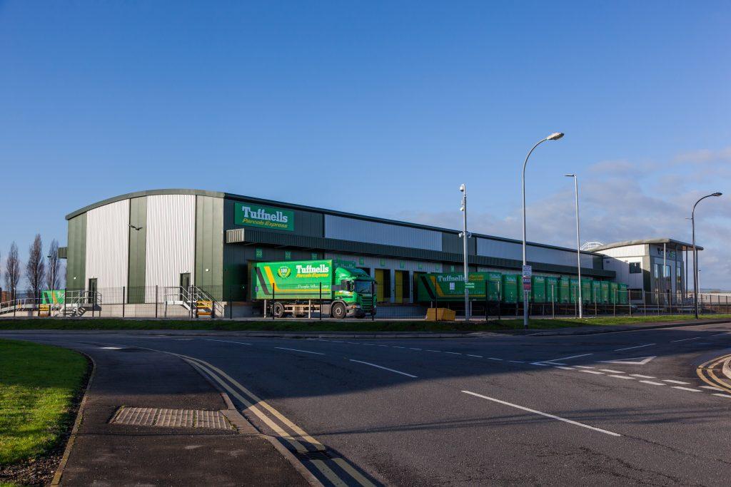 Tuffnells Parcel Express Warehouse Sheffield Akv
